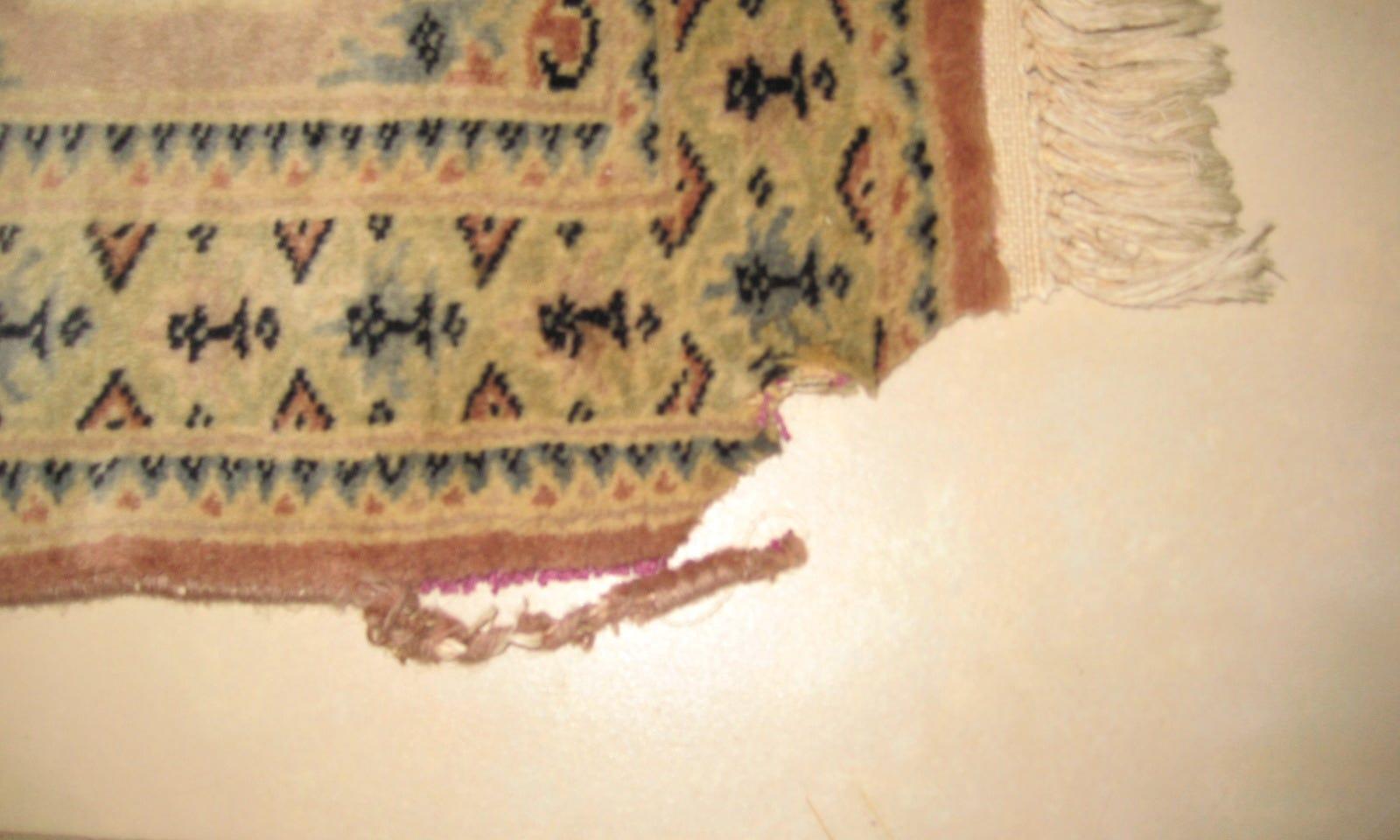Réparation et entretiens de tapis